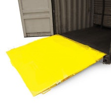 Ground level Container Ramp